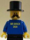 Ltd Ed Minifig 2020 – Mr Brick