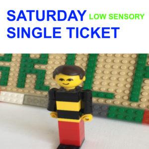 Saturday 9th Oct – LOW SENSORY Single Ticket